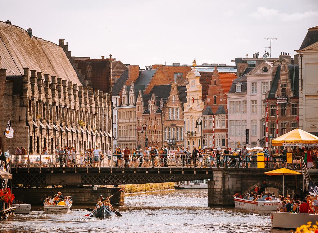 比利時 根特 Gent 氣質獨特的中世紀小城 by Wilhelm Chang 張威廉