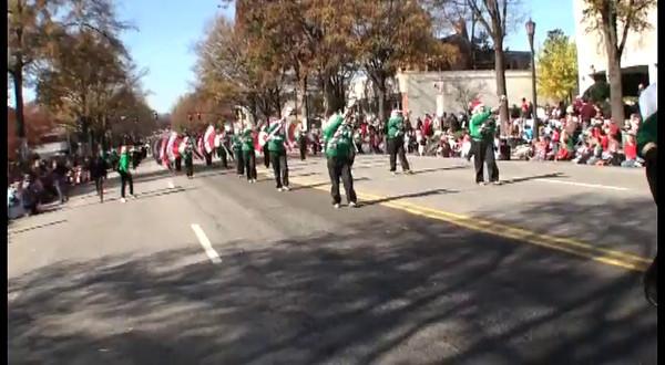 2011-11-19: Raleigh Christmas Parade Videos