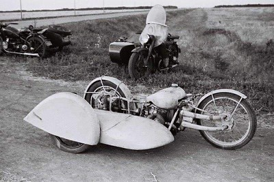 Funky Russian sidecars..