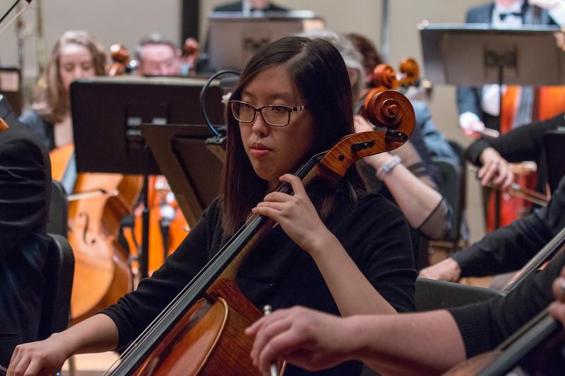 Alice Kuan -- Hopkins Symphony Orchestra, April 2017