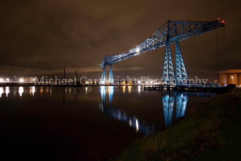 Transporter Bridge at Night