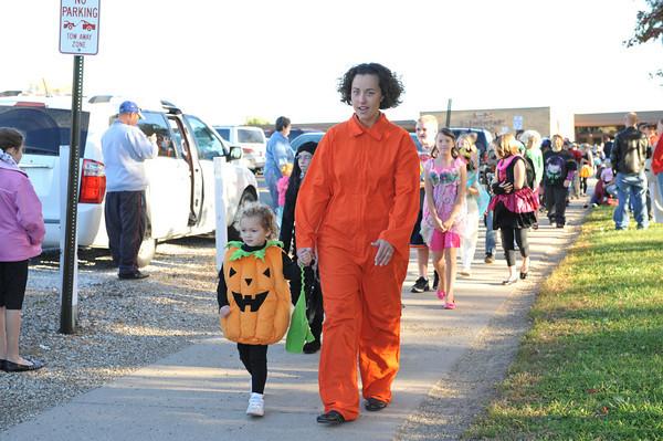 Halloween Parade at BPC Elem 10-27-10