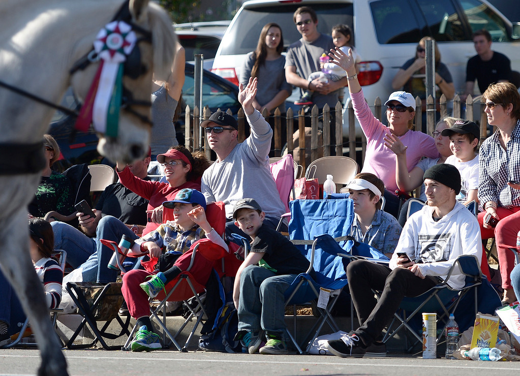 . during the 2014 Rose Parade in Pasadena, CA January 1, 2014.(John McCoy/Los Angeles Daily News)
