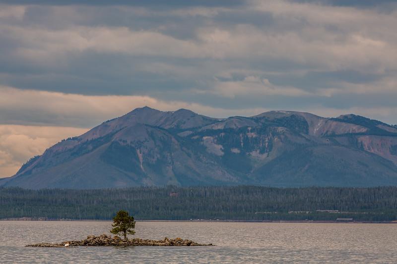 Dot Island, Yellowstone