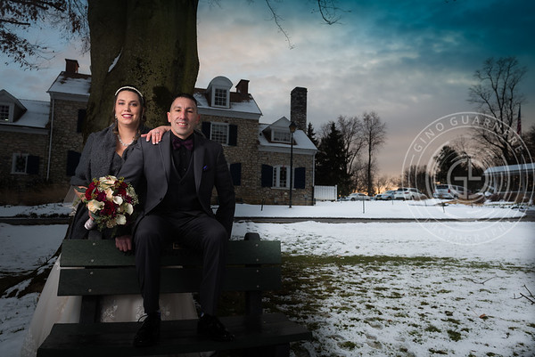 Noel and John, Downingtown Country Club by Gino Guarnere