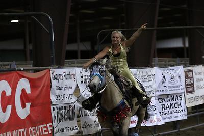 Saturday Dynamite Dames Trick Riding