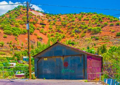 'Garage Art,' Bisbee, AZ 2015.
