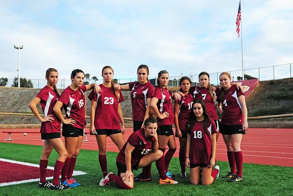 Varsity team, 12-18-14