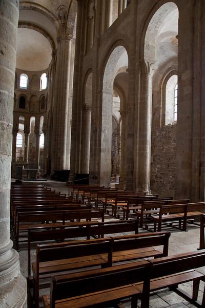 Abbey Church of Saint Foy Nave Arcade