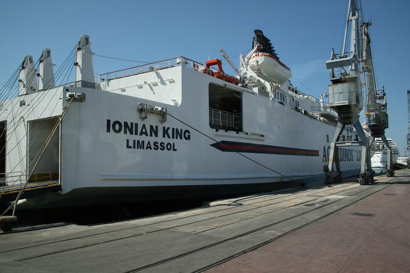 2008 - F/B IONIAN KING in Bari.