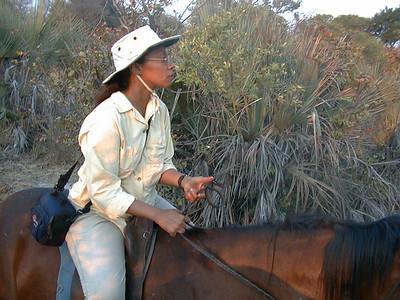 08.20 Victora Falls -- Horse Safari