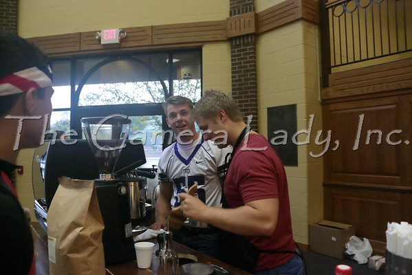 CHCA 2013 HS Coffee Cart - Leaning Eagle
