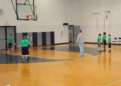 Little League Basketball 2011 Green VS. White