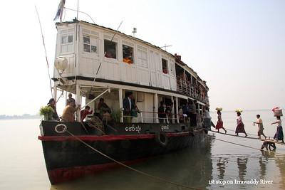 Irrawaddy River Boat Trip
