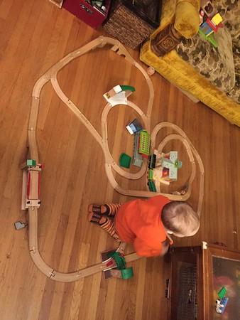 Train Track Layouts