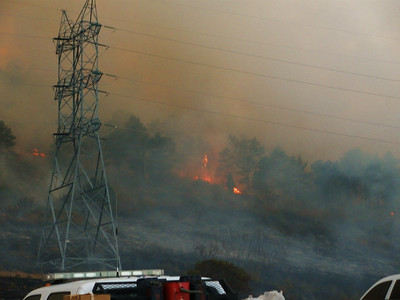 Wadsworth Ridge Fire 10-20-10