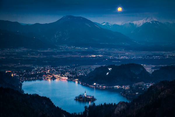 Bled full moon