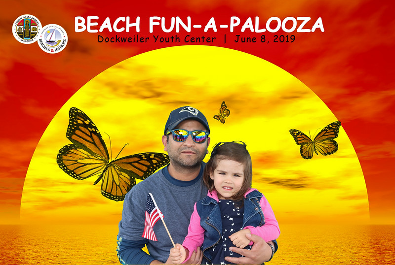 Fun-A-Palooza at Dockweiler Youth Center.   Photo booth by VenicePaparazzi.com