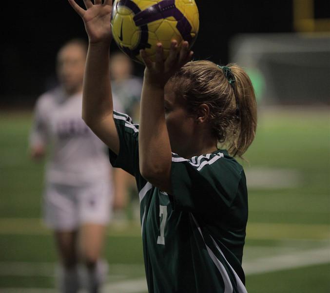 Maddie Jones Woodinville High Girls Varsity Soccer verse Issaquah High October 6, 2011   ©Neir