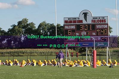 20070911 - Avon vs. South Amherst Boys 8th Football