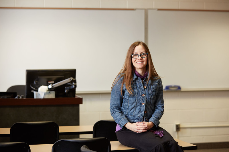 -UWL UW-L UW-La Crosse University of Wisconsin-La Crosse; Portrait Amy Tishcler EPC Teaching Excellence Award