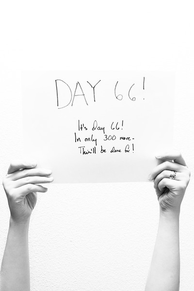 March 12, 2012. Day 66. Only 300 more days to go!  See photo for today's haiku :D  Wasilla, Alaska