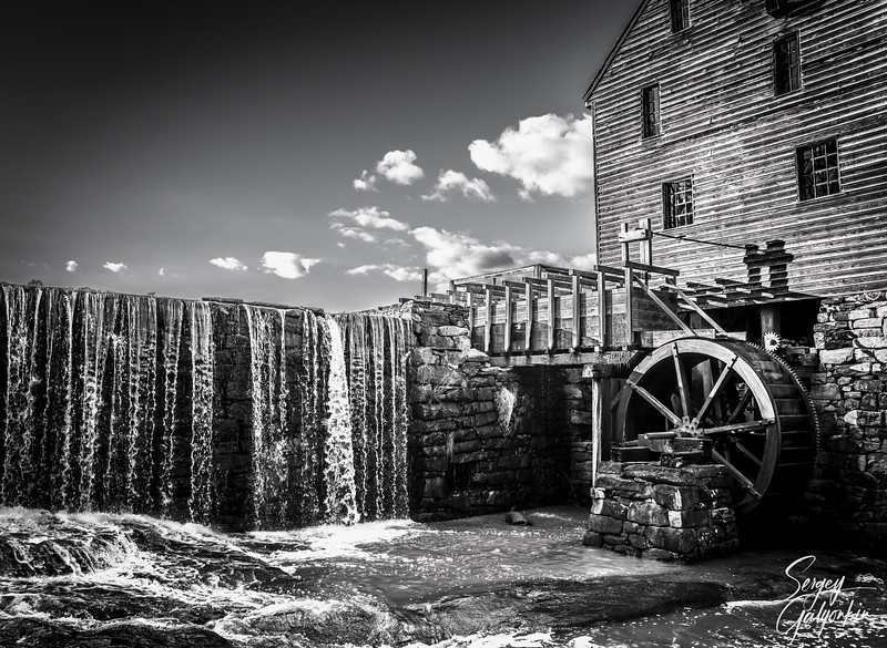 Yates Mill, Raleigh, North Carolina