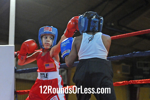 Bout 1 Rafael Dejesus, Old School BC -vs- Michael Hatcher, Empire BC/Zelma George-65 lbs, Bantam