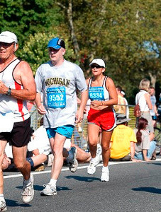 Philadelphia Distance Run 2005