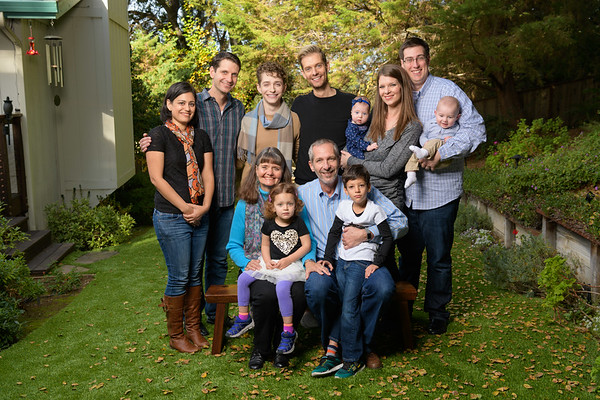Aaron W Multi-Generation Family Portraits @ Scotts Valley Home