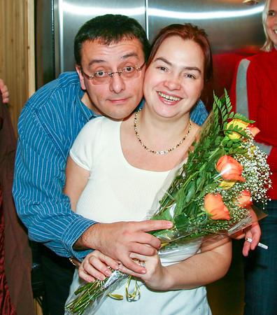 Claudia birthday celebration - November 29, 2008