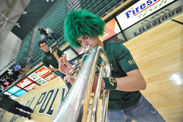 B Band, Women's Basketball vs UC Davis