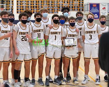 2021.02.06 Boys Basketball: Dulles District Championship, Dominion @ Loudoun County