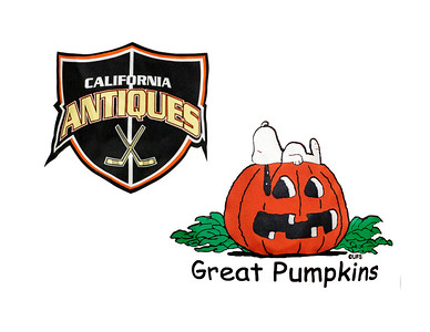 50C Santa Rosa Great Pumpkins vs California Antiques