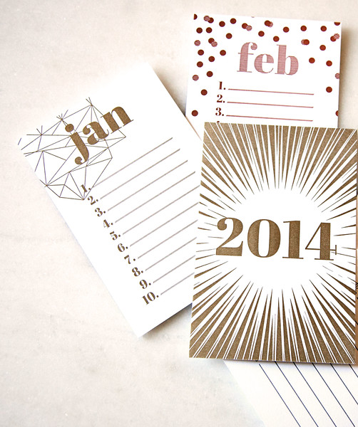 Instead of setting goals for the year and checking in with yourself once a year, take another look and readjust each month.