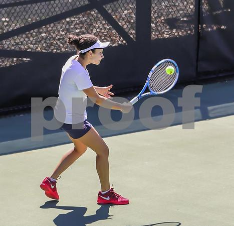 Singles Photos Court 1 - Highlights --Katrine Steffensen (Princeton) def. Lina Qostal (Penn), 3-6, 7-6(4), (10-8)