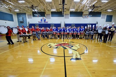 Battle of the Drumlines 2/1/19