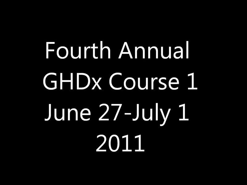 GHDx Short Course.wmv
