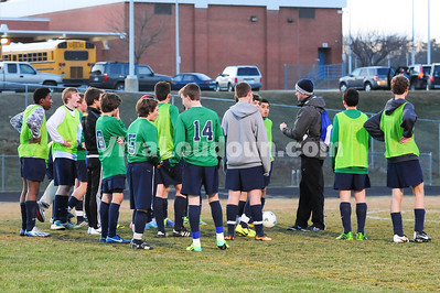 Boys JV Soccer: Woodgrove at Dominion (3-24-2014 by Jeff Vennitti)