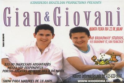 GIAN & GIOVANE 2004