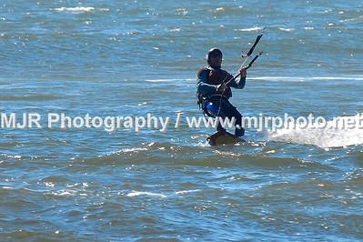 Kite Boarding, Gilgo Beach, NY, (10-09-06)