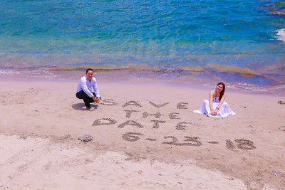 Ramon and Grace save the date video