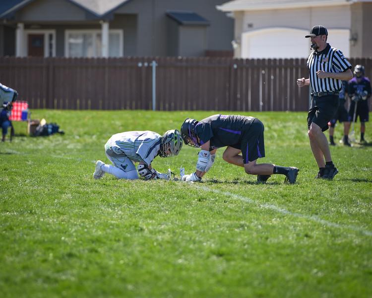 Mtn View vs Rocky Mtn Lacrosse 4-02-16