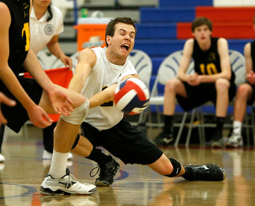 Boy's volleyball division I CCS Championship