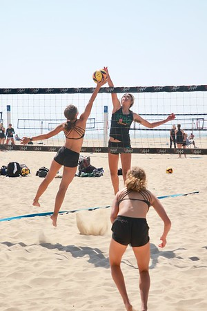 EHS Varsity Girls Beach VB Game May 12, 2021