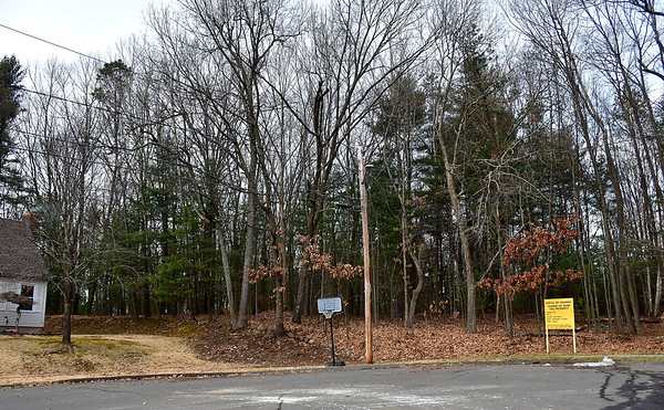 1/7/2020 Mike Orazzi | StaffrThe dead end street on Silo Road in Bristol on the opposite side of the proposed gated community on Redstone Hill Road that has neighbors up in arms, info meeting is scheduled for Thursday at the Manross LIbrary.