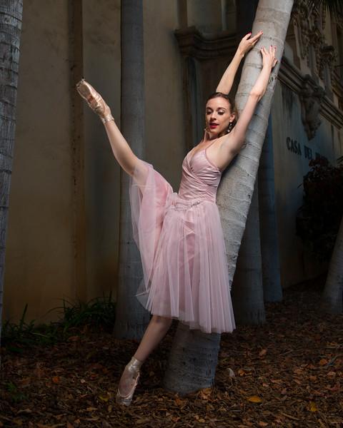 Principal dancer Stephanie