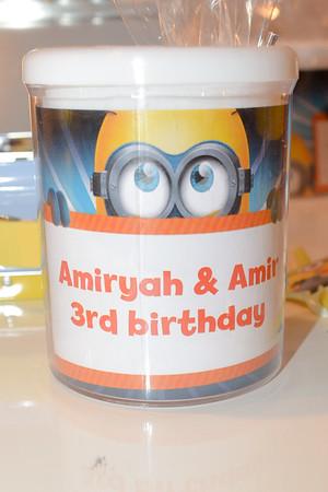 02/27/16  Amiryah & Amir 3rd Bday