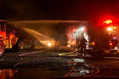 Brush Fire - Scott Rd, Prospect, CT - 9/6/16