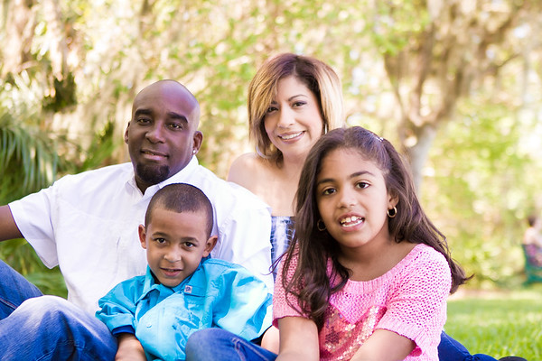 Nicole, LJ, Miles, & Natalie